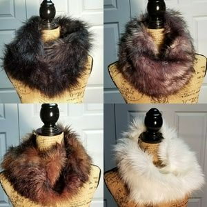 Merona Faux Fur Snood NWT pick your color